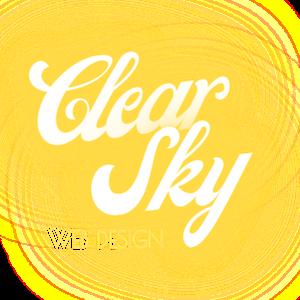 Clear Sky Web Design Ltd – Website Design in Sussex Logo